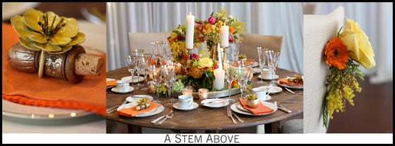 City Winery Styled Shoot: Detail Table Photos