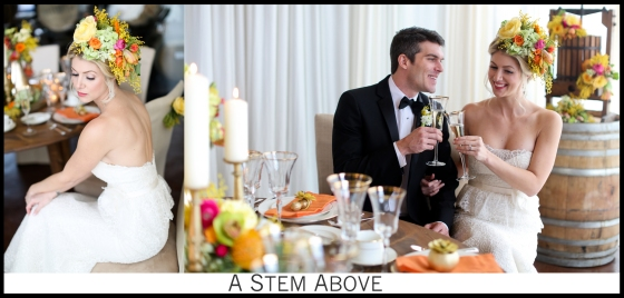 City Winery Styled Shoot: Hairpiece Photo