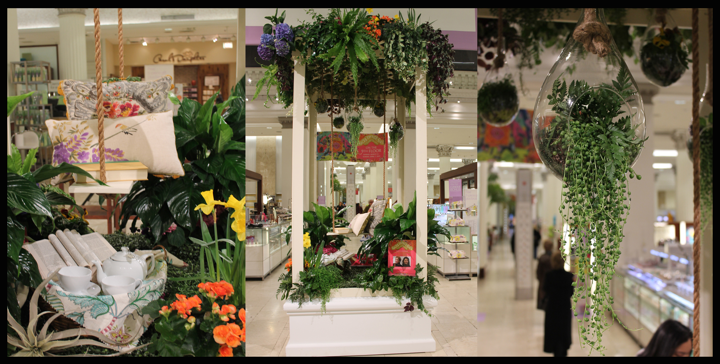Macy's Flower Show Welcomes A Stem Above and Kara O'Connor Interiors